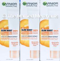 3) Garnier Skin Active Glow Boost Illuminating Moisturizer 2 oz ea 7/202... - $12.22