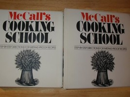 McCall's Cooking School, Complete 2 Vol. Set [Hardcover] Lucy Wing