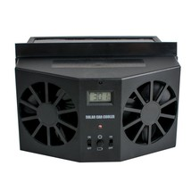 Pevor Solar Powered Auto Car Window Air Vent Ventilator Mini Air Conditi... - $41.16