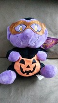 HALLOWEEN VAMPIRE Trick or Treat Pumpkin Bag 2016 New Plush Stuffed Anim... - $9.99