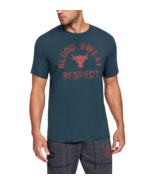 Under Armour Mens UA Project Rock Blood Sweat Respect Short Sleeve T-Shi... - $24.98
