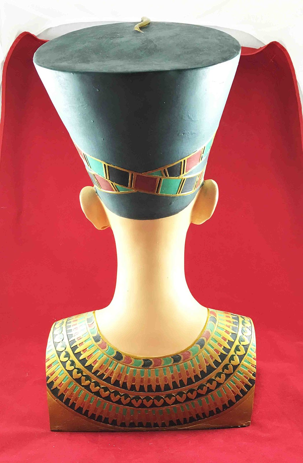 "Large Egyptian Queen Nefertiti Bust Statue 18/""h Detailed Craftsmanship Sculpture"