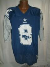 Vintage 1995 starter dallas cowboys troy aikman #8 Jersey XL 52 NFL FOOT... - $39.59