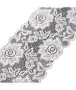 White Floral Lace Trimming Bridal Wedding Lace for Craft Lace - $11.90