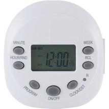 GE 15154 7-Day Random On/off 1-Outlet Plug-in Digital Timer - $30.16