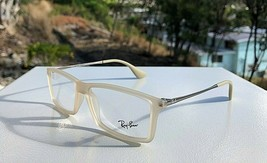 NWOT Ray-Ban Matte Beige Eyeglasses Frames RB 7021 Matthew 5369 / 52-14 140 - $39.62