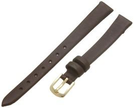 Hadley-Roma Women's 100 Genuine Leather Strap Watchband Brown 10 SHIPSFREE - $7.96
