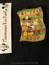 Disney LE Pin Cinco de Mayo 2009 Mickey Mouse Maracas Sombreros FREE SHIP - $13.99