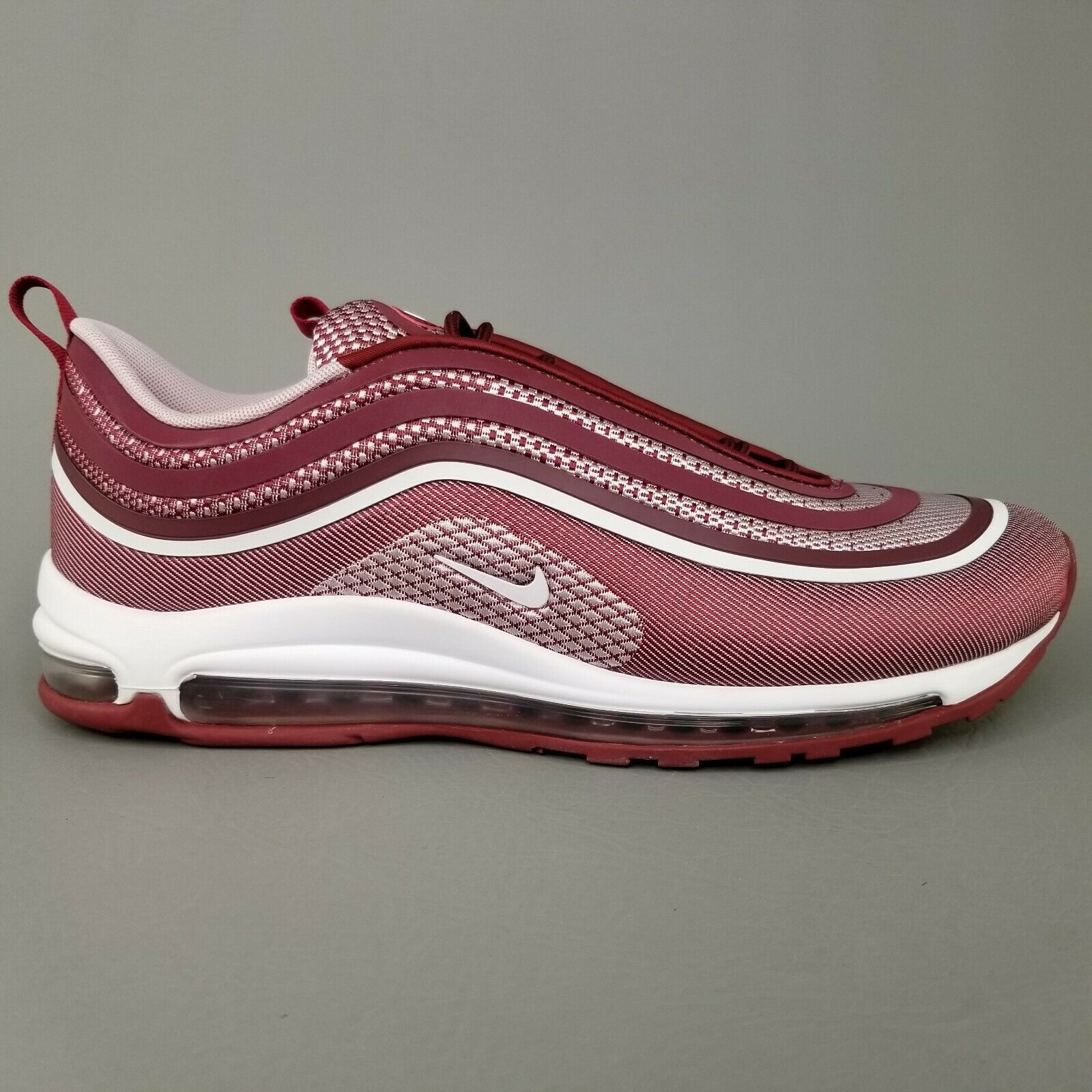 Nike Air Max 97 Ultra UL 17 Athletic Shoes Mens Size 12 Team Red White
