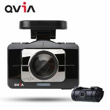 """QVIA R975 WD GPS 16GB+8GB 3.97 """"FHD Touch LCD 2CH Car Dash Camera Car Blackbox image 2"""