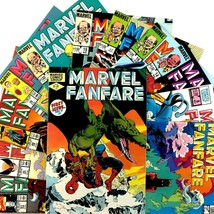 Marvel Fanfare 12 Comic Book Lot Marvel 1 6 8 14 16 17 19 20 33 46 49 51 - $34.60