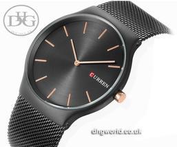 CURREN Elegant Japanese Quartz, Ultra Thin Watch - Men's / Gents, Water Res 30m - $27.99