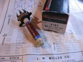Miller 7151 Coil Tunable Quadrature 4.5MHz - NOS Qty 1 - $9.49