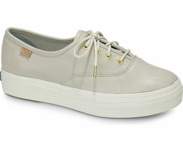 Keds WH57954 Women's Shoes Champion Pretty Leather Ivory, 8.5 Med - $49.45