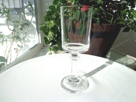 Set of 3 Tuscany Crystal York Pattern Clear White Wine Glasses - $20.79