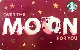 Starbucks 2020 Over The Moon Recyclable Collectible Gift Card New No Value - $1.99