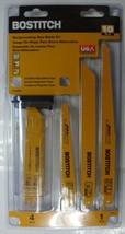 Bostitch BSA4898M 10-Piece Reciprocating Saw Blade Set USA - $17.82