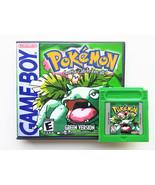 Pokemon Green Game / Case - Gameboy (GB) English Translated (USA) - $14.99+