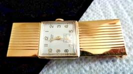 Vintage Hawthorne 17 Jewels Pocket Watch Clip Goldtone Untested Unsearched - $25.00
