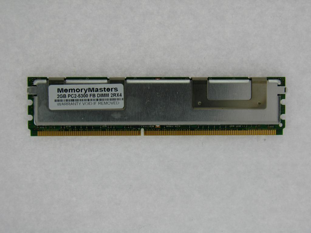 8X2GB FBDIMM PC2-5300F 667GHz FOR HP PROLIANT DL380 DL580 ML350 G5 16GB