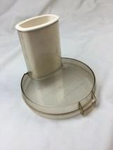 Cuisinart Food Processor Amber Work Bowl Lid DLC-104 fits Model BASIC Japan - $18.69
