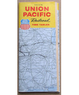 Union Pacific Railroad Time Tables October 30, 1966 - $9.99
