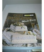 Australian Women's Weekly Cake Decorating Made Easy - $5.33