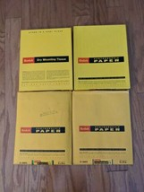 Lot of 4 Boxes Kodak 8 x 10 Photographic Photo Paper Mounting TissueE-2 F-2 F-4  - $37.39