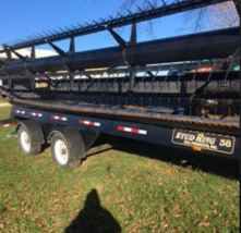 2012 Agco 9250 Header FOR SALE IN OVERBROOK KS 66524 image 2