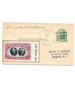 Naval Cancel USS Fresno CL 121 CIPEX Poster Stamp UX27 1947 Postal Card - $186,61 MXN