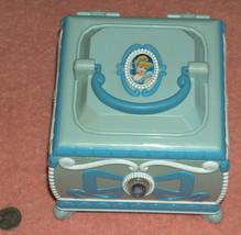 Disney princess cinderella trinket music box lights up sings Bibbidi boo - $31.87
