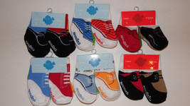 Trumpette Noodles infant / Toddler Socks Newbaby boys socks 4 pairs NWT - $7.79