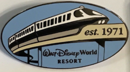 Monorail  Walt Disney World Resorts 1971 Authentic Disney Pin NO  card - $16.99