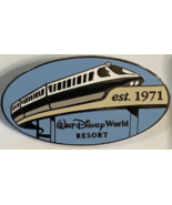Monorail  Walt Disney World Resorts 1971 Authentic Disney Pin NO  card - $16.99