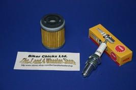 YAMAHA 83-85 YTM200 Tri-Moto Tune Up Kit   NGK Spark Plug & Oil Filter - $18.97