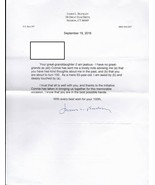JAMES L. BUCKLEY UNITED STATES SENATOR AUTOGRAPHED LETTER - $22.42