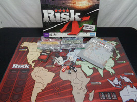 Risk Three Ways To Play By Hasbro Classic Strategy Boardgame (OAY61-003) - $10.20