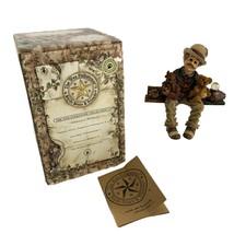 Boyds Bear Wee Folkstones Henry K Wallstreet 36402 Shelf Sitter Figurine - $15.84
