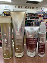 Joico Blonde Life Brightening Shampoo&Conditioner + Masque+shield -4set - $79.99