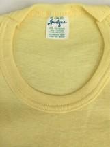 NOS Vintage Women's Yellow Shirt Size Medium Auto-Haus Racing Team Sportique USA image 2