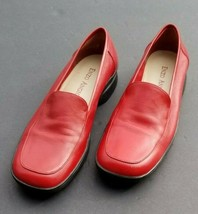 Enzo Angiolini 8.5 Red Flat Shoes - $46.55