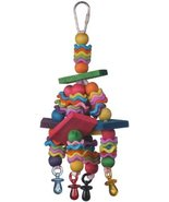 Super Bird Creations Wiggles and Wafers Toy for Birds - £5.81 GBP