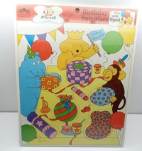 Golden Books Frame Tray Puzzle 10701 Fun With Spot Happy Birthday Surprises - $24.99