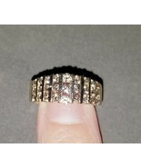 Beautiful 27 Diamond (1ctw) Pave wedding or Anniversary Ring in 14K GOLD... - $3,502.00