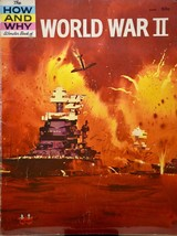 1962  Vintage How & Why Wonder Book of World War II - Rare - OOP - 48 Pages - $9.99