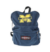 Vintage 90s Eastpak University of Michigan Spell Out Backpack Book Bag B... - $59.35