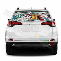 Sticker Bomb Skin Window See Thru Stickers Perforated for Toyota RAV4 20... - $59.80