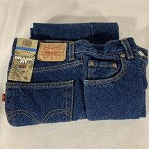 New Levi's 550 Boys Size 14 Reg 27 x 27 27W 27L Relaxed Fit Blue Jeans - $19.75