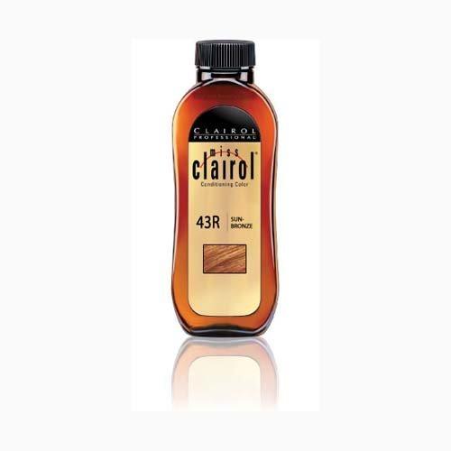 MISS CLAIROL PERMANENT HAIR COLOR #43R Sun Bronze