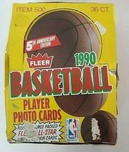1990 Fleer Basketball Unopened Box 36 Packs Possible Michael Jordan - $112.86